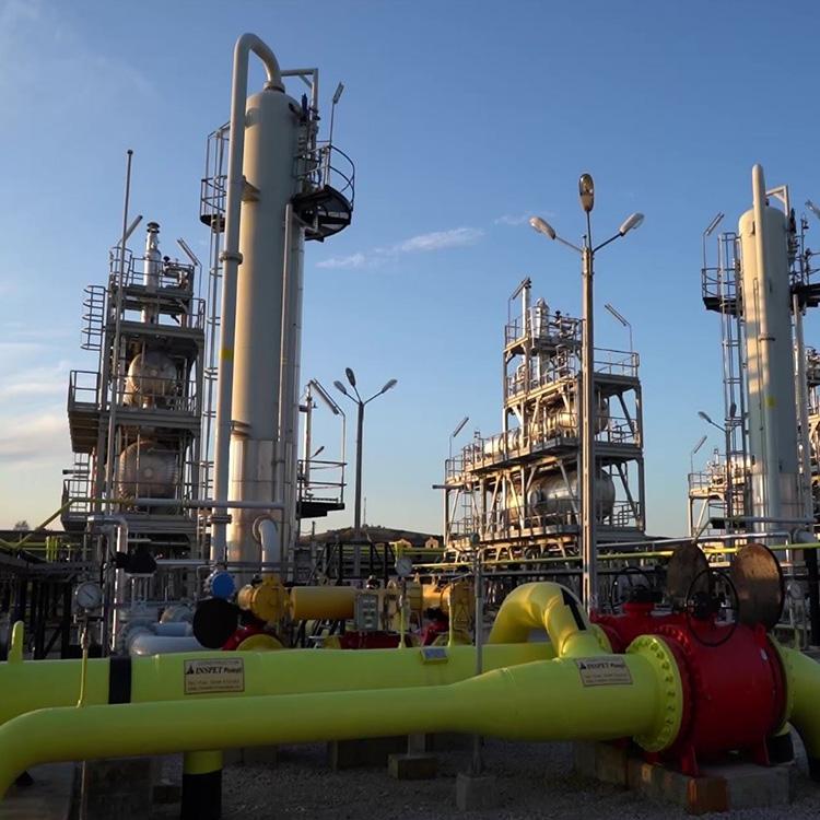 Capacitați de producție gaze naturale